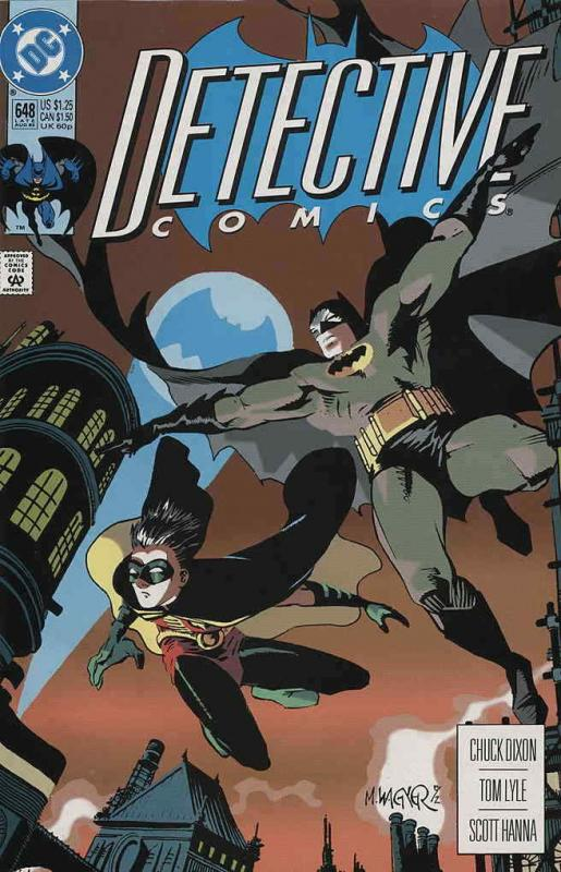 Detective Comics #648 VF/NM; DC | save on shipping - details inside