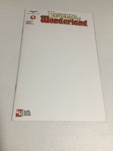 Revenge Of Wonderland 1 Blank Sketch Cover Edition Nm Near Mint Zenescope