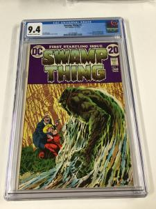 Swamp Thing 1 Cgc 9.4 Ow/w Pages 1st First Matt Cable 2031404006