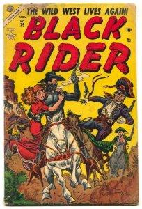 Black Rider #25 1954- Arrowhead- Atlas Western G/VG
