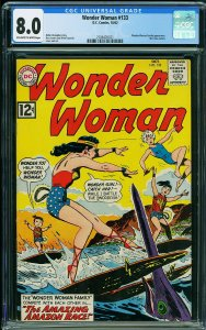 Wonder Woman #133 (DC, 1962) CGC 8.0