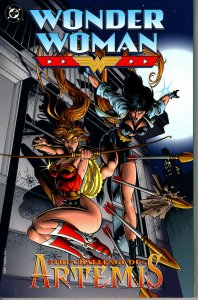 DC Comics! Wonder Woman: The Challenge of Artemis! Trade Paperback! Great Book!