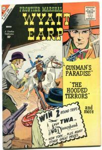 Wyatt Earp Comics #29 1960- Charlton Western- Hooded Terrors F/VF