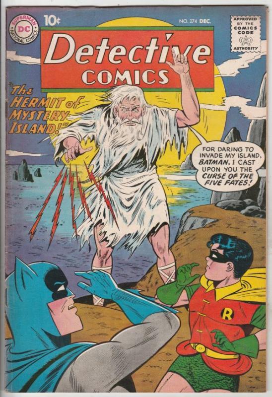 Detective Comics #274 (Dec-59) VF+ High-Grade Batman