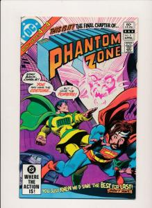 DC SUPERMAN in THE PHANTOM ZONE #2,3,4 FINE/VERY FINE (HX682)