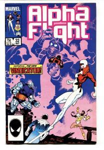 ALPHA FLIGHT #32-comic book MARVEL COMICS-MUTANTS! NM-