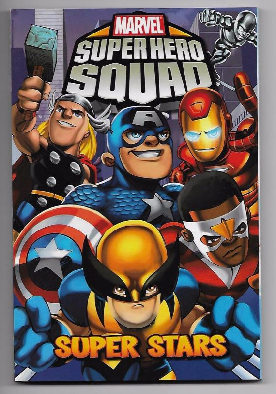 Marvel Super Hero Squad - Super Stars TPB Digest Collects 1st Printing - New!