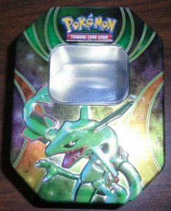 Pokemon EX Rayquaza Fall Beyond The Ordinary Collector Tin 2015