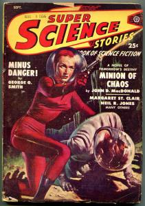 Super Science Stories September 1949- John D MacDonald G/VG
