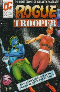 Rogue Trooper (1st Series) #30 FN; Fleetway Quality   save on shipping - details