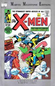 Marvel Milestone Edition X-Men #1, VF (Stock photo)