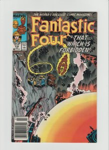 Fantastic Four #316 (1988) VF 8.0 Newsstand Edition!!