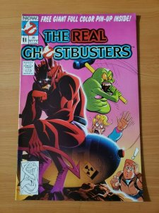 The Real Ghostbusters #11 ~ NEAR MINT NM ~ 1989 NOW Comics