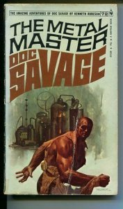 DOC SAVAGE-THE METAL MASTER-#72-ROBESON-VF-Fred Pfeiffer COVER-1ST EDITION G