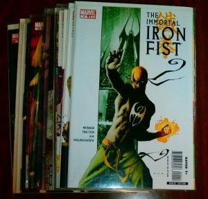 Immortal Iron Fist   vol. 1   #1,2,5-14,16,18 + (set of 15)