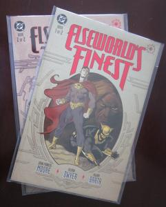 Elseworld's Finest (1997) SET#1+2, 8.0