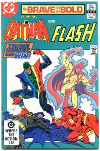 Brave And The Bold  #194 1983- Batman- Flash- Rainbow Raider VF