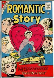 Romantic Story #50 1960-Charlton-Valentines Day cover-nice art-VG