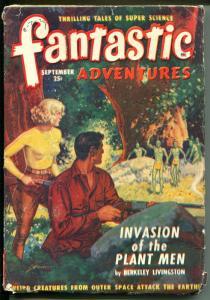 FANTASTIC ADVENTURES 9/1949-ZIFF-DAVIS-PULP SCI-FI-PHILLIPS-LIVINGSTON-good
