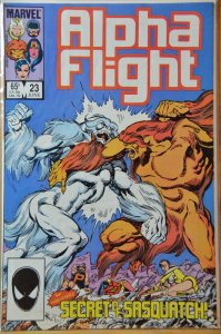 Alpha Flight #23 (1985) VF+