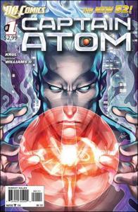 DC CAPTAIN ATOM (2011 Series) #1 NM