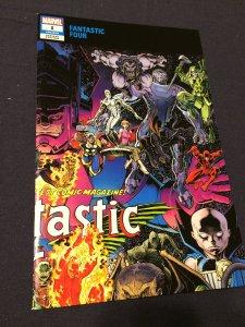 Fantastic Four #1 NM Wraparound Cover Adams Variant (2018) Marvel Comics