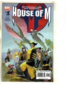 8 House of M Marvel Comics # 1 2 3 4 5 6 7 8 RP1