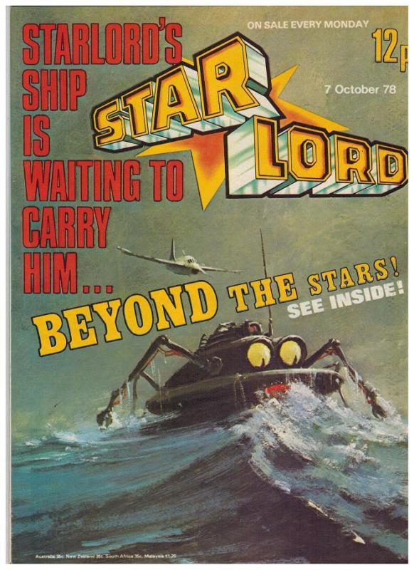 STAR LORD (BRITISH WEEKLY)22(10/ 7/78) VG-F last issuE