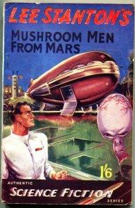 MUSHROOM MEN FROM MARS-Bizarre Pulp Horror-Authentic Science Fiction Series #1-1