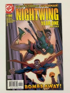 Nightwing #102 Year One Part Two of Six Bombs Away  | DC Comics | NM