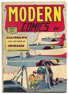 Modern Comics #93 1950- Blackhawk- Torchy -Golden Age VG-