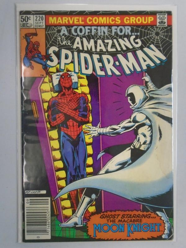 Amazing Spider-Man (1st Series) #220, Water Stain 4.0 (1981)