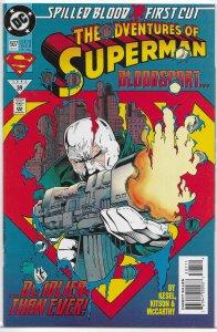 Adventures of Superman   vol. 1   #507 VF/NM (Spilled Blood 1)