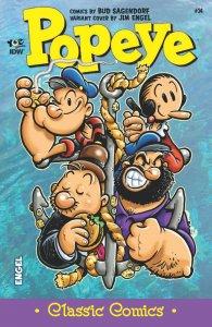 IDW POPEYE CLASSIC COMICS #24 : RI COVER : NM : SUPER RARE!