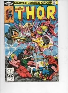 THOR #296 VF/NM God of Thunder Valhalla 1966 1980, more Thor in store