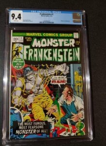 Frankenstein #1 - Mike Ploog Cover - CGC