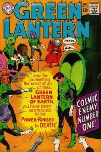 Green Lantern (1960 series) #55, VG- (Stock photo)