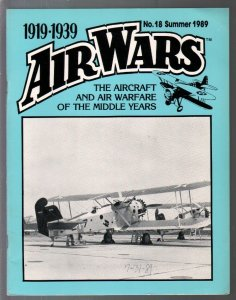 Air Wars #18  Summer 1989-Aircraft & air warfare of the middle years 1919-1939-G