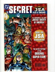 JSA Secret Files & Origins # 1 NM 1st Print DC Comic Book Hawkgirl Appearanc SR1