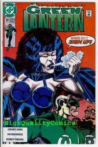 GREEN LANTERN #20, NM, Hal Jordan, Power Ring, John, 1990, Pat Broderick