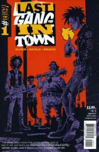 Last Gang In Town #1 VF; DC/Vertigo | save on shipping - details inside