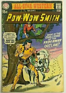 ALL-STAR WESTERN#1  GD/VG 1970  DC BRONZE AGE COMICS