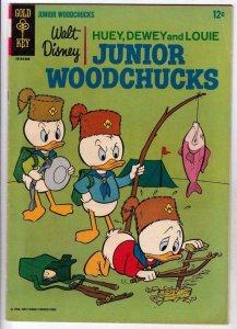 Huey Dewey & Louie Junior Woodchuks 1 strict FN/VF Newton Gearloose Gyro's Neph