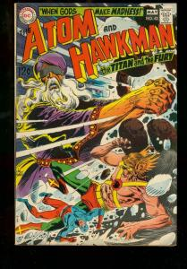 THE ATOM AND HAWKMAN #42 1969 DC COMICS KUBERT ANDERSON FN-
