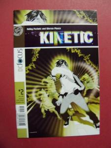 KINETIC  #2,   VF/NM OR BETTER DC COMICS