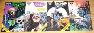 Terrarists #1-4 VF/NM complete series PAT MILLS & TONY SKINNER eco-terrorists