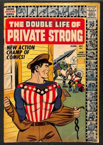 Double Life of Private Strong #1 VG- 3.5