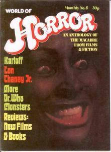 WORLD OF HORROR (1970S DALLRUTH)   8 VF-NM
