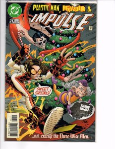 DC Comics Impulse (2000) #57 Plastic Man Ethan Van Sciver Art