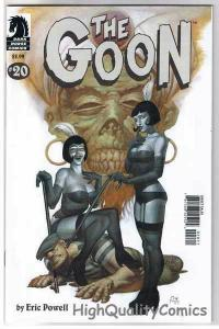 GOON #20, NM+, Zombies, Tough Guy, Eric Powell, 2003, more Goon in store